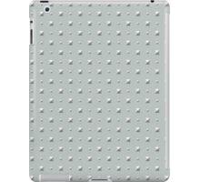 Studded Double Polka Stud on Slate Green Mist 2 iPad Case/Skin