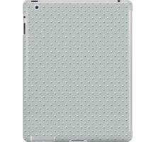 Studded Double Polka Stud on Slate Green Mist 2@50 iPad Case/Skin