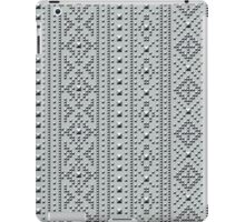 Studded Southwest Stripe on Slate Green Mist 1 iPad Case/Skin