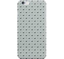 Studded Double Polka Stud on Slate Green Mist 1@50 iPhone Case/Skin