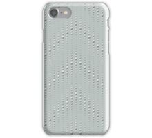 Studded Chevron Stripe on Slate Green Mist 2@50 iPhone Case/Skin