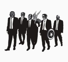 Reservoir Dogs - Avengers by YouKnowThatGuy