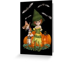 Its a spooky Night Greeting Card