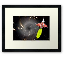 Will We Have the Power to Pass the Black Hole Framed Print