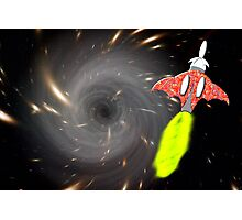 Will We Have the Power to Pass the Black Hole Photographic Print