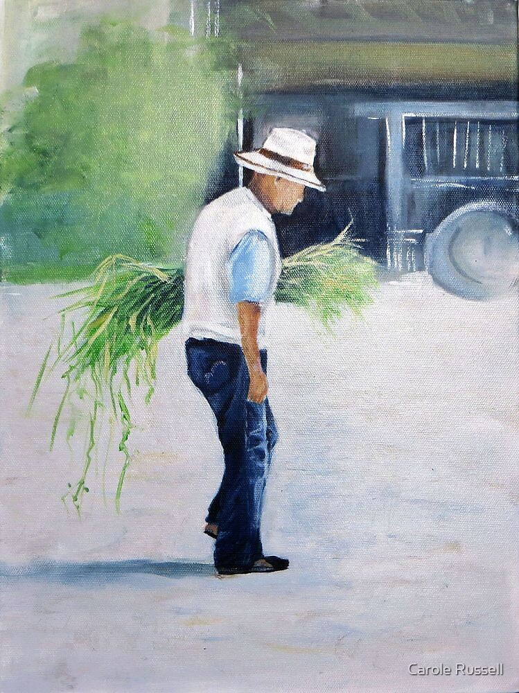 Working man by Carole Russell