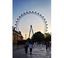 Life in London Photographic Print