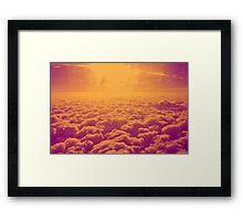 30,000 ft. Framed Print