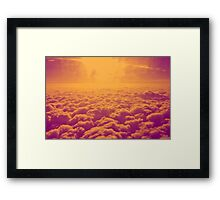 30,000 ft. Framed Print