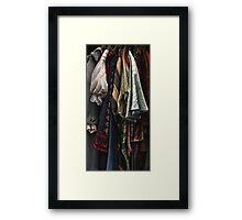 Costumes from the Stratford Warehouse No 08 Framed Print