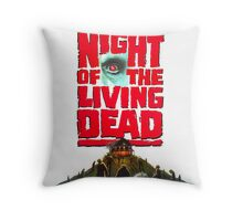 night of the living dead  Throw Pillow