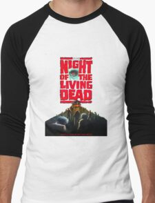 night of the living dead  Men's Baseball ¾ T-Shirt