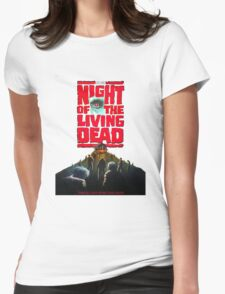 night of the living dead  Womens Fitted T-Shirt