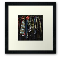 Costumes from the Stratford Warehouse No 06 Framed Print