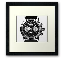 patek philippe watch abstract Framed Print