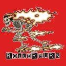 Rollerburn by Psychobilly-Tee