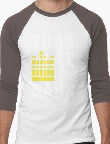Turn up the bass!  Men's Baseball ¾ T-Shirt