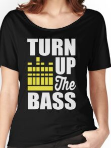 Turn up the bass!  Women's Relaxed Fit T-Shirt