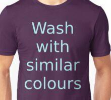 Wash with similar colours (dark background) Unisex T-Shirt
