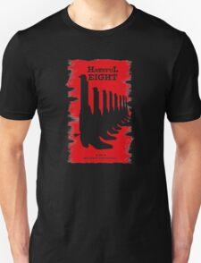 The Hateful Eight 2015 guns logo Unisex T-Shirt