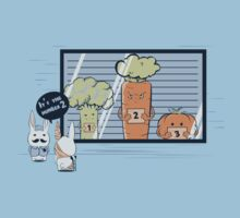 Vegetables Suspects by Donnie Illustration