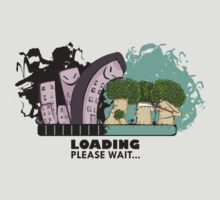Loading, please help... by Donnie Illustration