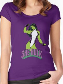 She Hulk Women's Fitted Scoop T-Shirt