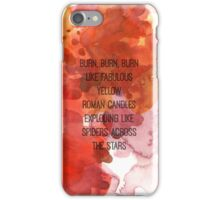 Kerouac Watercolour iPhone Case/Skin