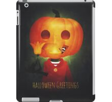 Halloween Greetings iPad Case/Skin