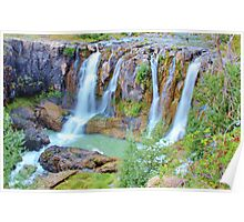 White River Falls, Tygh Valley, Oregon Poster