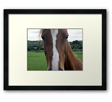 whos looking at you kid Framed Print