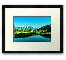Peaceful beauty Framed Print
