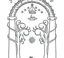 The door of Durin by LFandDESIGN