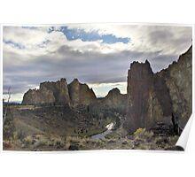 Smith Rock SP, Terrebonne, Oregon Poster