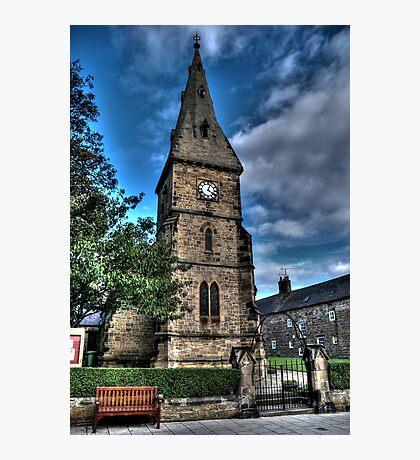 Alnmouth Church Photographic Print