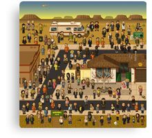 Super Breaking Bad DELUXE Canvas Print