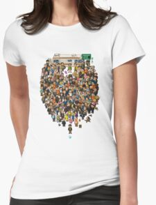 Super Breaking Bad DELUXE Womens Fitted T-Shirt