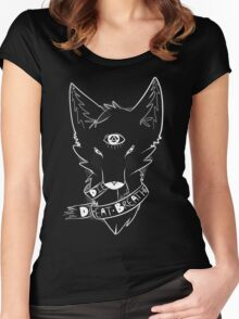 Ribbon Fox Women's Fitted Scoop T-Shirt