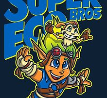 Super Eco Bros by Punksthetic