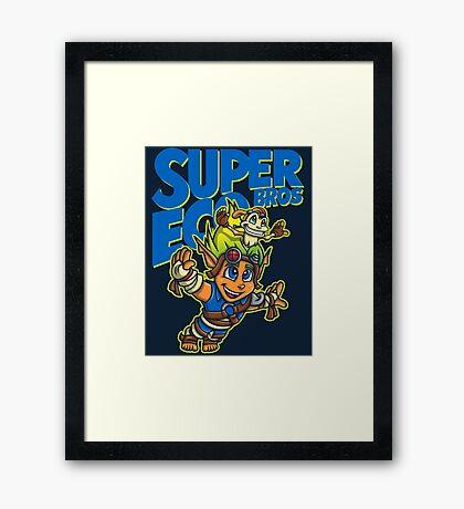 Super Eco Bros Framed Print