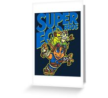 Super Eco Bros Greeting Card