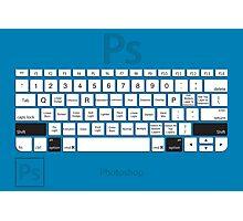 Photoshop Keyboard Shortcuts Blue Opt+Shift Photographic Print