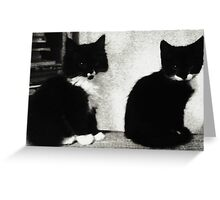 Bubble & Squeak Greeting Card