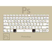 Photoshop Keyboard Shortcuts Brwn Cmd Photographic Print