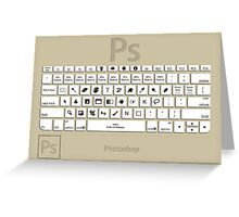 Photoshop Keyboard Shortcuts Brwn  Greeting Card