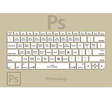 Photoshop Keyboard Shortcuts Brwn Tool Names Photographic Print