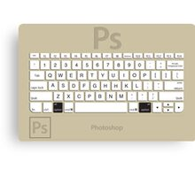 Photoshop Keyboard Shortcuts Brwn Opt Canvas Print
