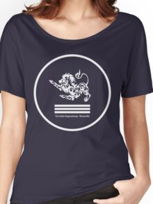 Lion System - Heaven Trigram - YSBKnox (White) Women's Relaxed Fit T-Shirt