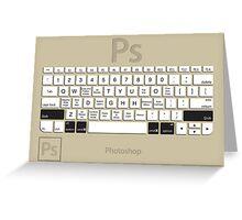 Photoshop Keyboard Shortcuts Brwn Opt+Shift+Cmd Greeting Card