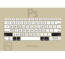 Photoshop Keyboard Shortcuts Brwn Opt+Shift+Cmd Photographic Print